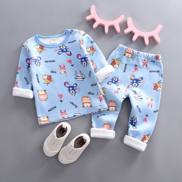 Cartoon Printed Night Suit