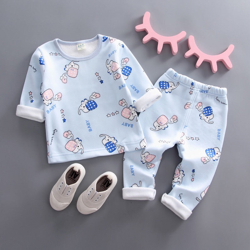 Elephant Printed Night Suit