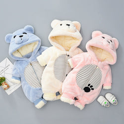 Teddy Bear Winter Jumpsuits