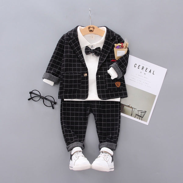 Checkered Suit Set