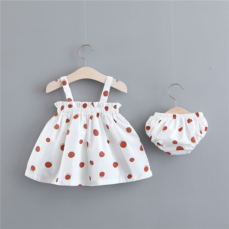 Polka Dot Bloomer Set