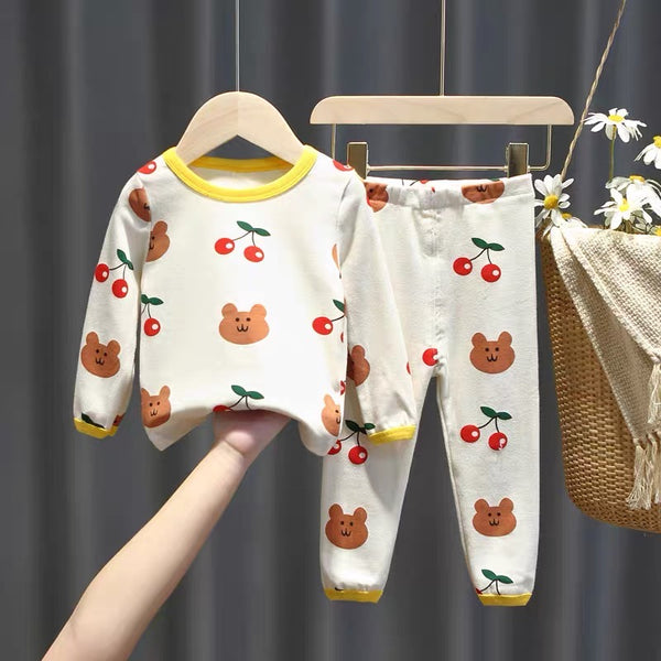 Bear Printed Night Suit