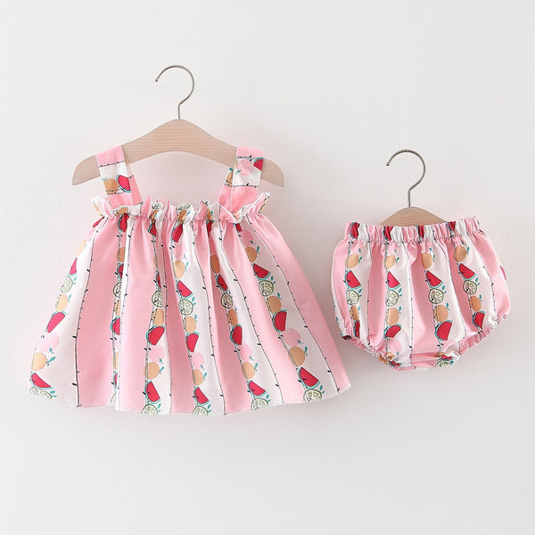 Summer Print Bloomer Set