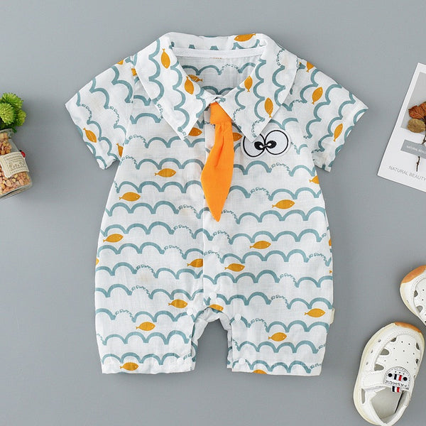 Sea Printed Baby Romper