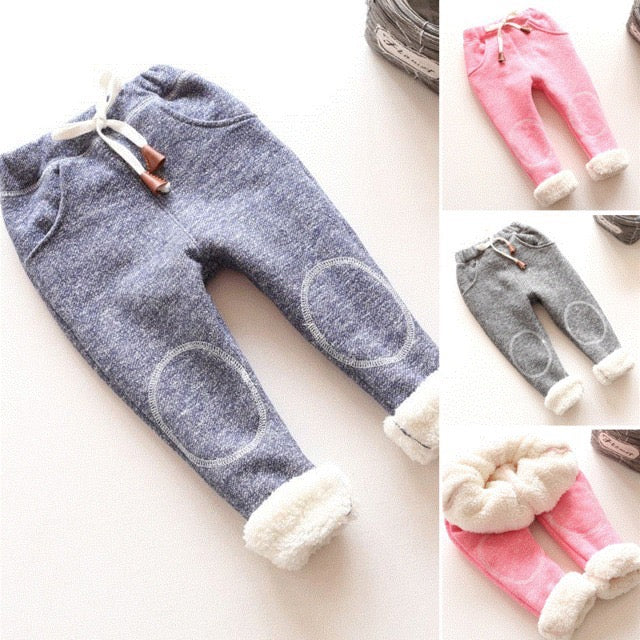 Baby Solid Winter Pants