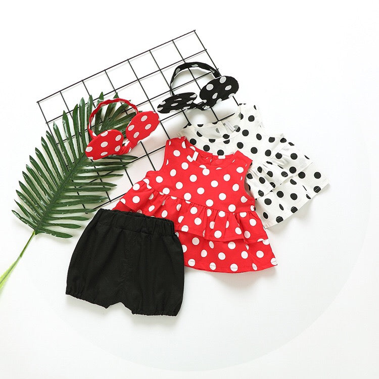 79d95aa7a Minnie Mouse Headband Summer Set – Baby Monk