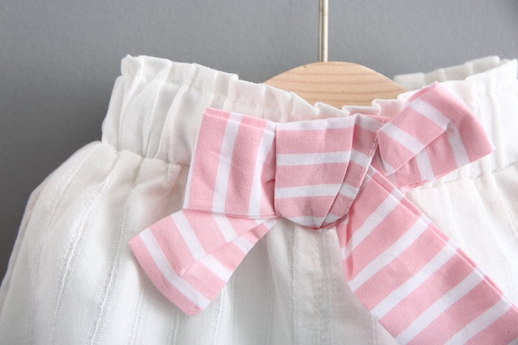 Striped Summer Sets For Baby Girls