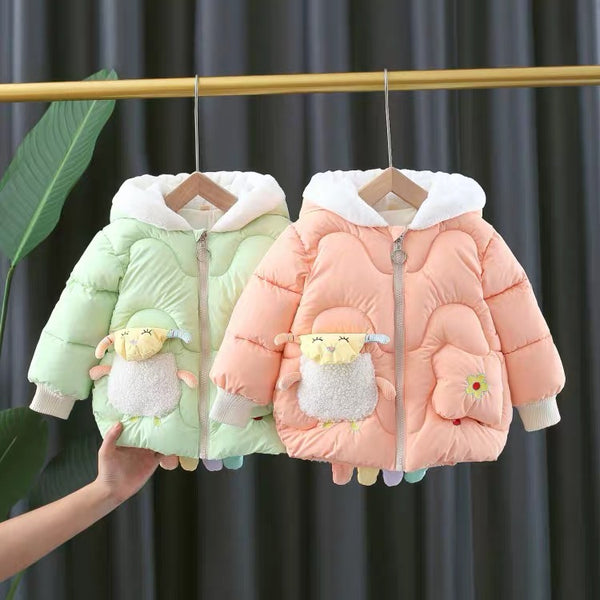 Sheep Made Winter Jackets