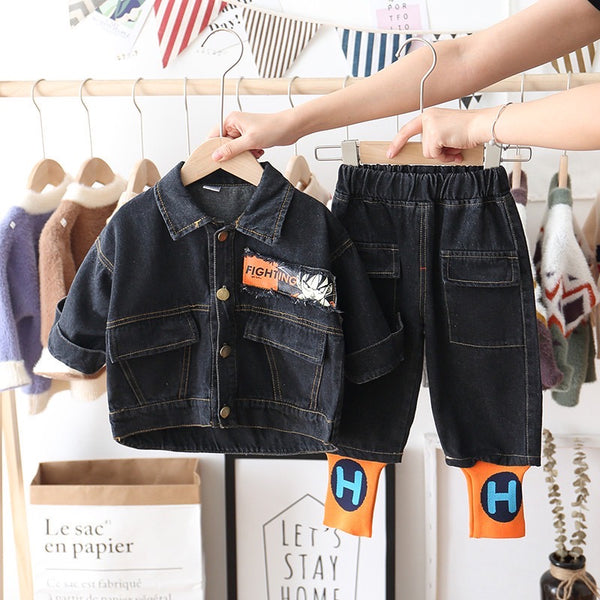 Goku Denim Set