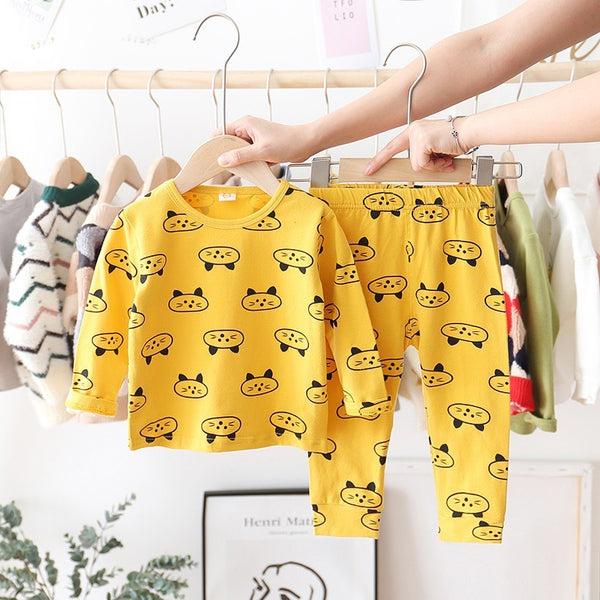 Animal Printed Cotton Night Suits