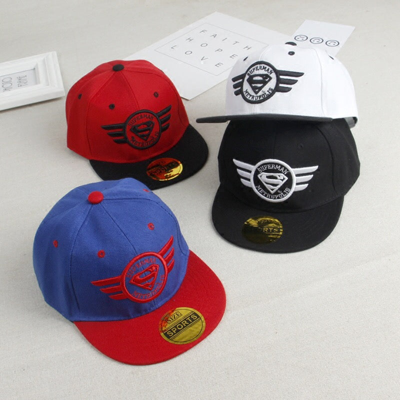 Superman Hip Hop Cap