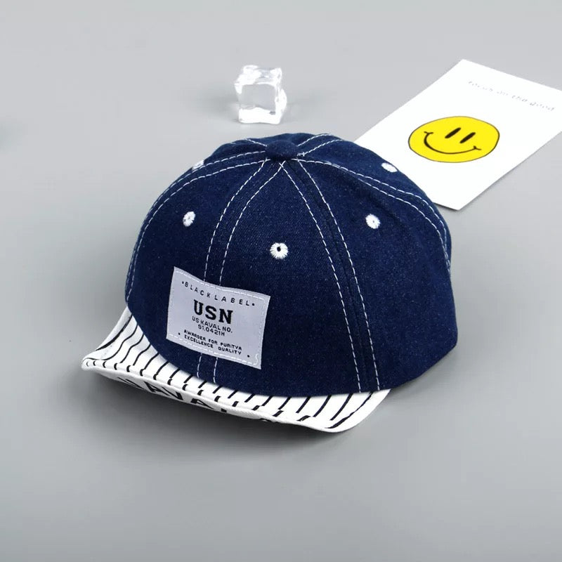 Denim Baby Caps