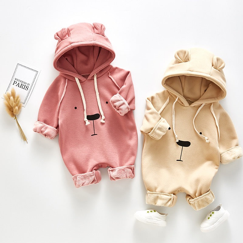 Animal Made Hooded Winter Jumpsuit