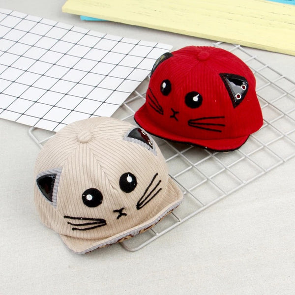 Cute Cat Baby Cap