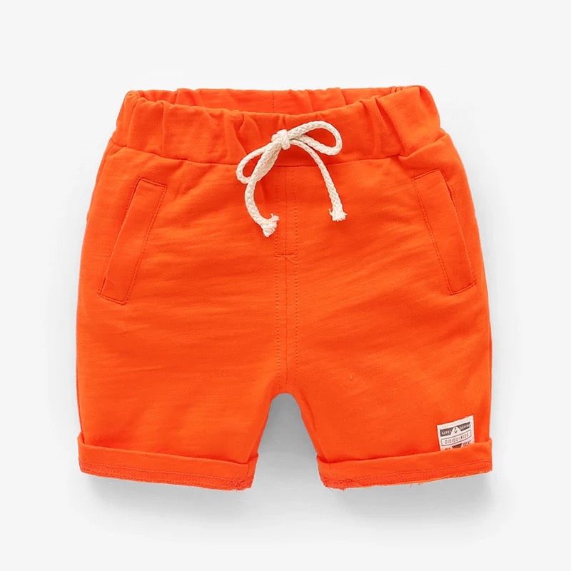 Pure Color Summer Shorts