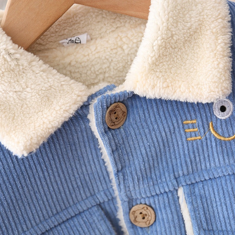 Corduroy Fleece Jacket