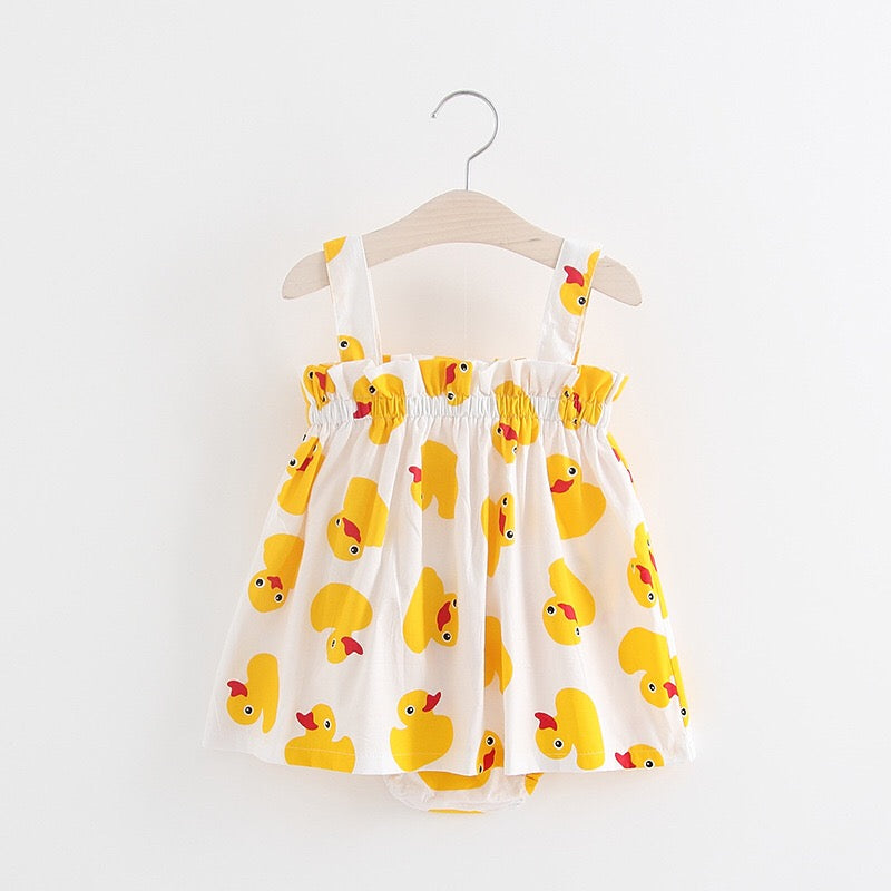 Duck Printed Bloomer Set