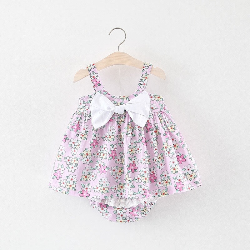Floral Printed Bloomer Set