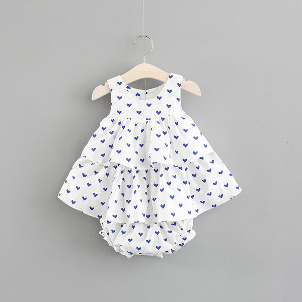 Heart Printed Bloomer Set