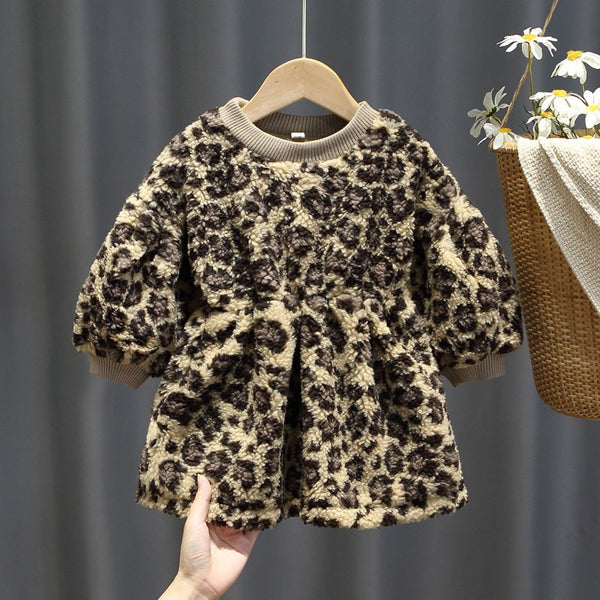 Leopard Winter Dress
