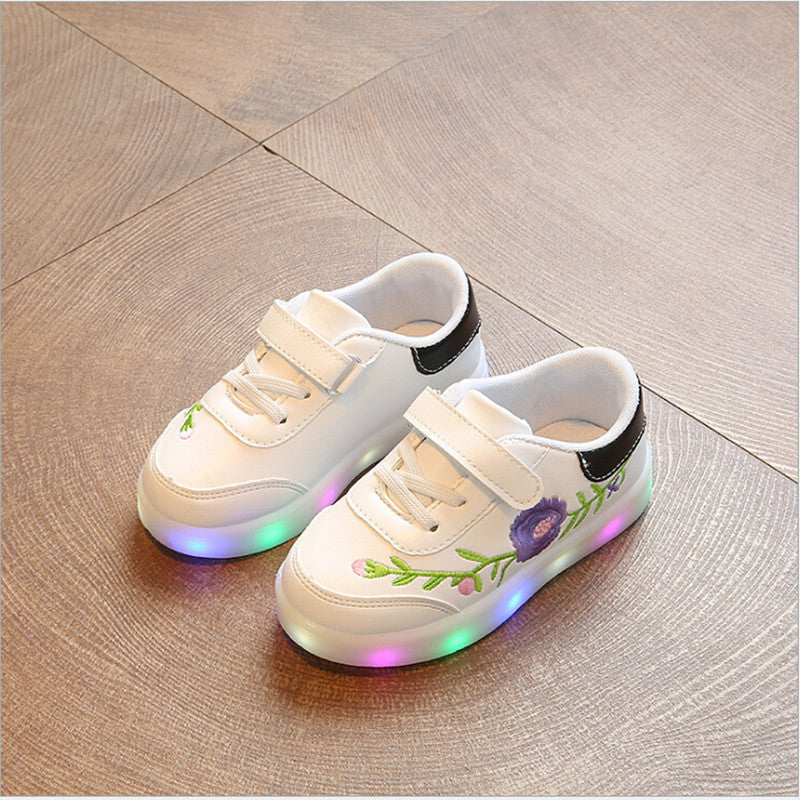 Embroidery LED Sneakers