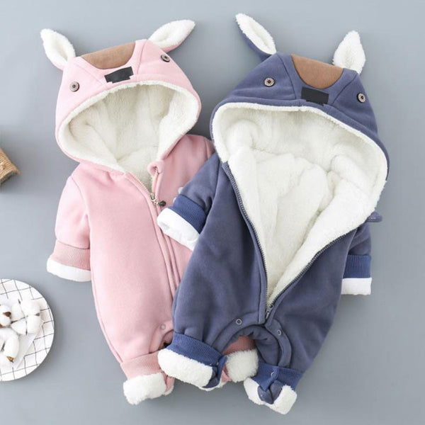 Rabbit Made Winter Thick Jumpsuit