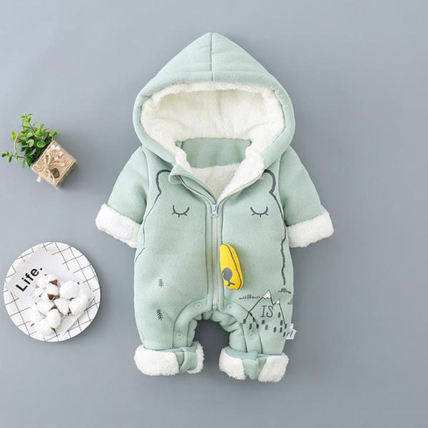 Polar Bear Winter Thick Jumpsuit