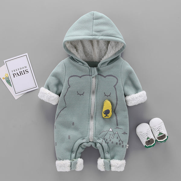 Polar Bear Winter Jumpsuit