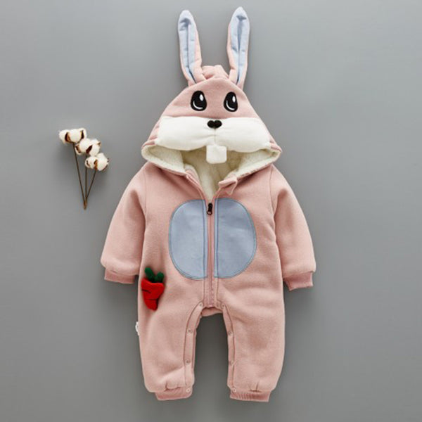 Rabbit-Carrot Winter Jumpsuit