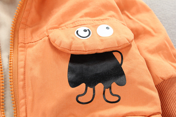 Orange Cartoon Jacket