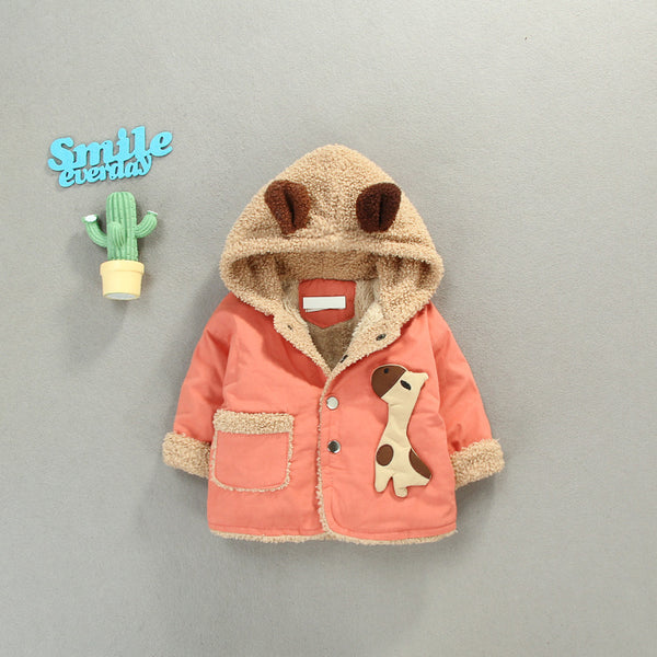 One Pocket Animal Made Winter Jacket