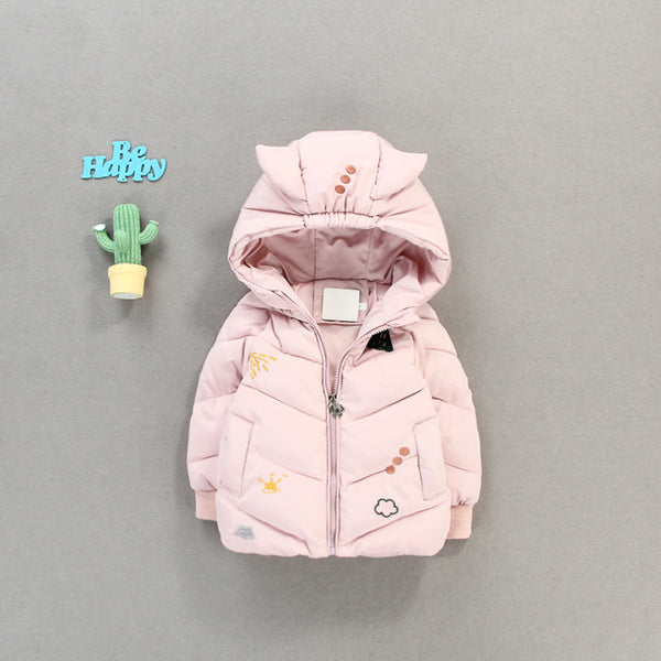 Devil Hooded Winter Jacket