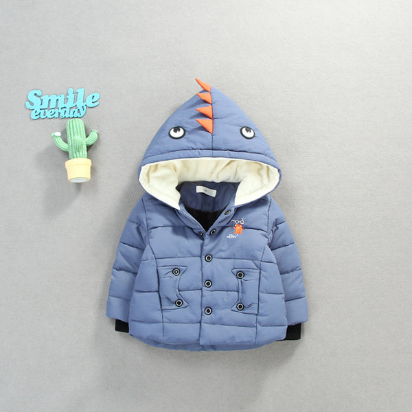 Shark Hooded Winter Jacket