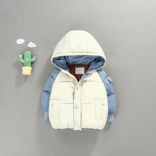 White Hooded Winter Jacket