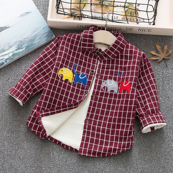 Elephant Made Checks Winter Shirt