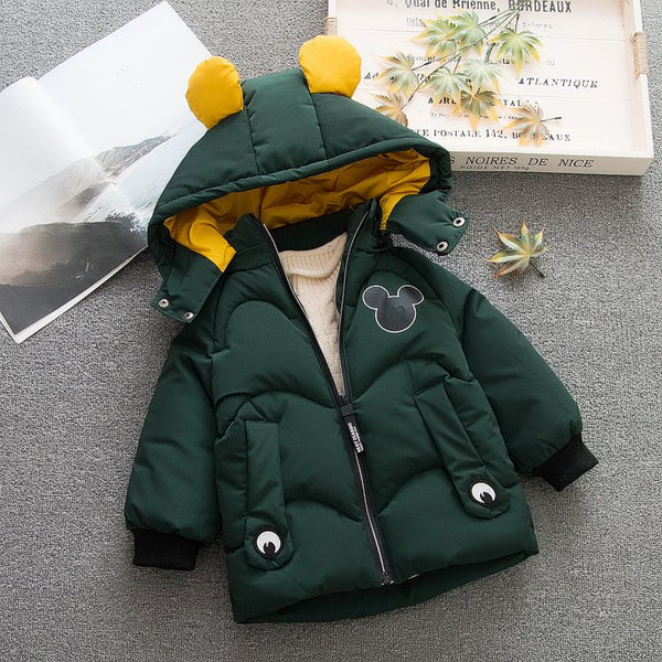 Mickey Made Hooded Winter Jacket
