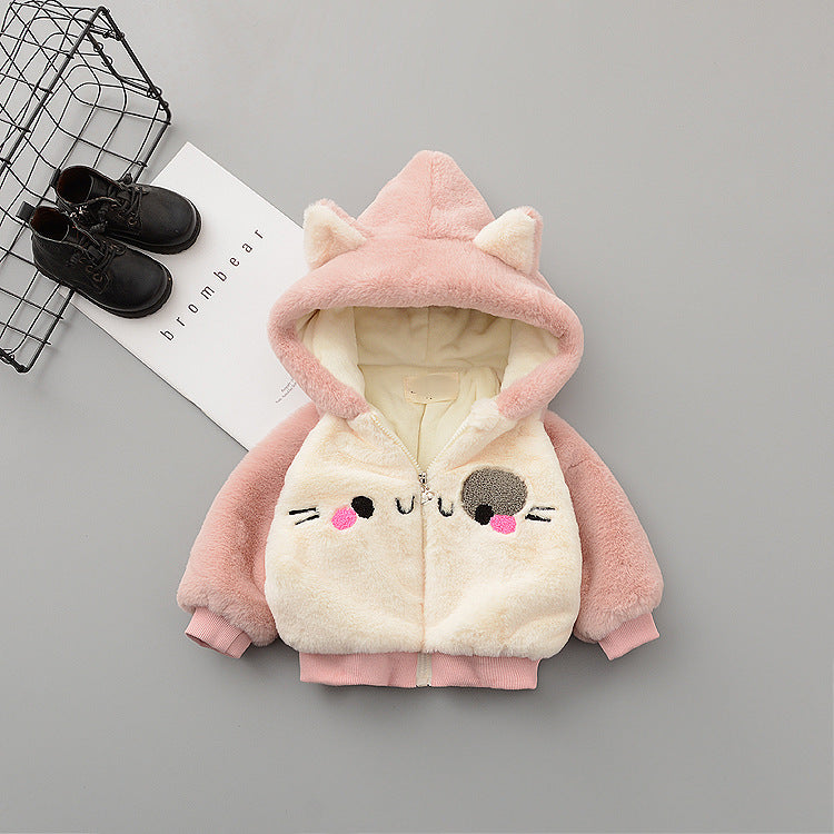 Cat Made Hooded Winter Jacket