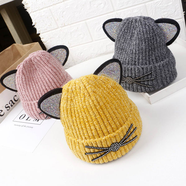 Cat Winter Hat