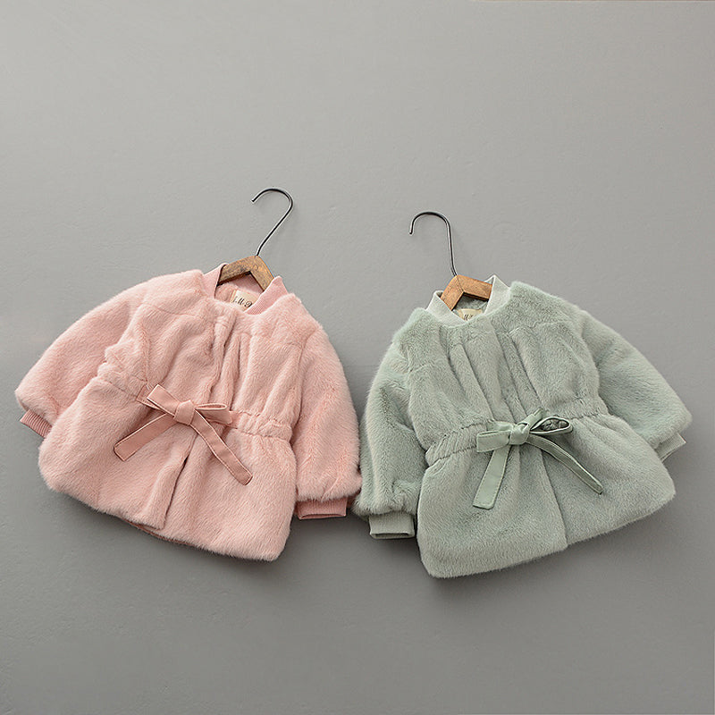 Bow Knot Winter Jackets