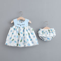 Fruit Printed Bloomer Set