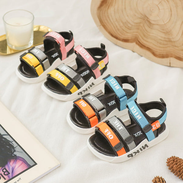 Colored Strap Sandals
