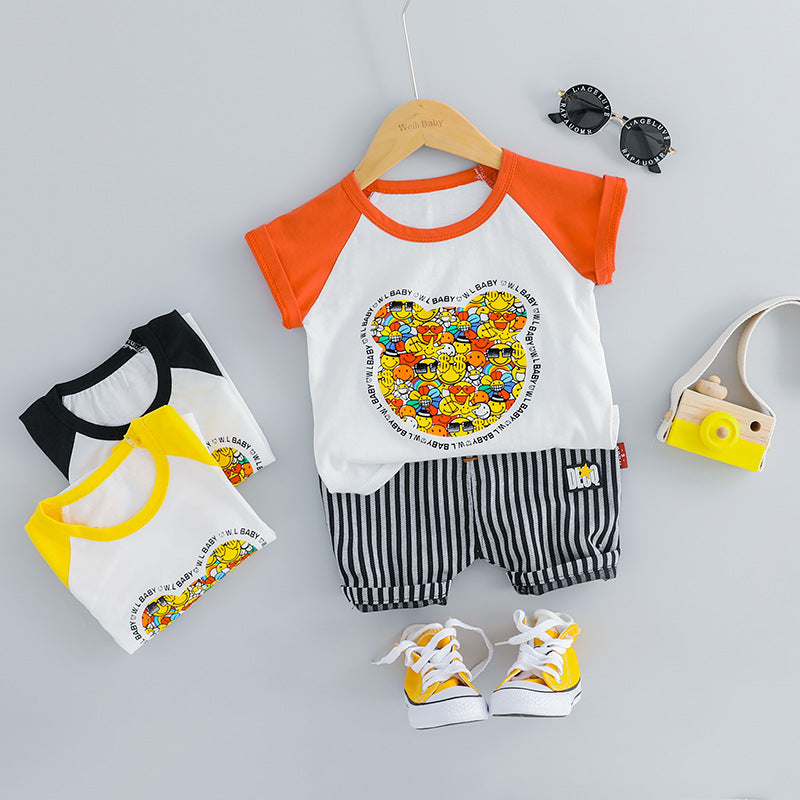 Cartoon Printed Summer Set
