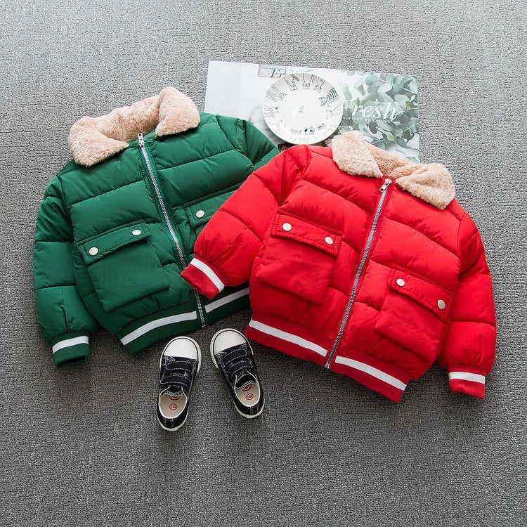 Double Pocket Padded Jacket