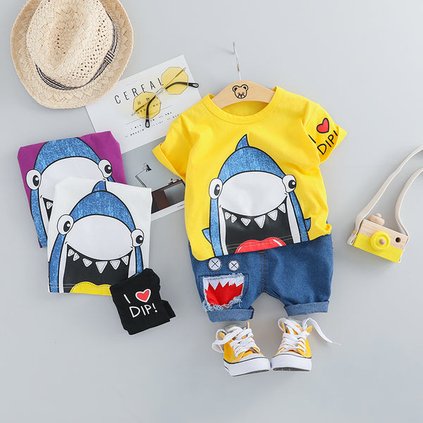 Shark Printed Summer Set