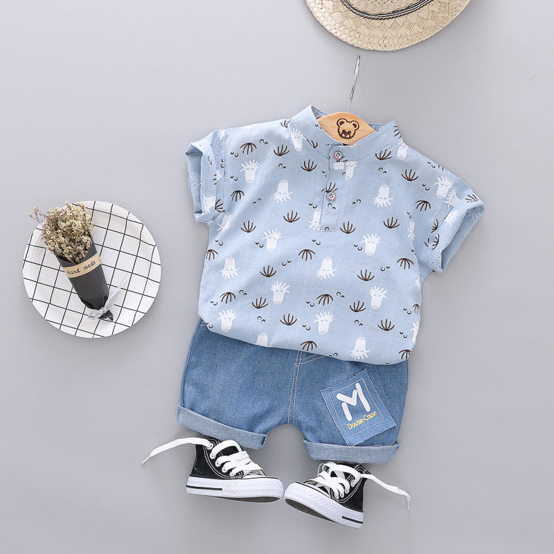 Dandelion Printed Summer Set
