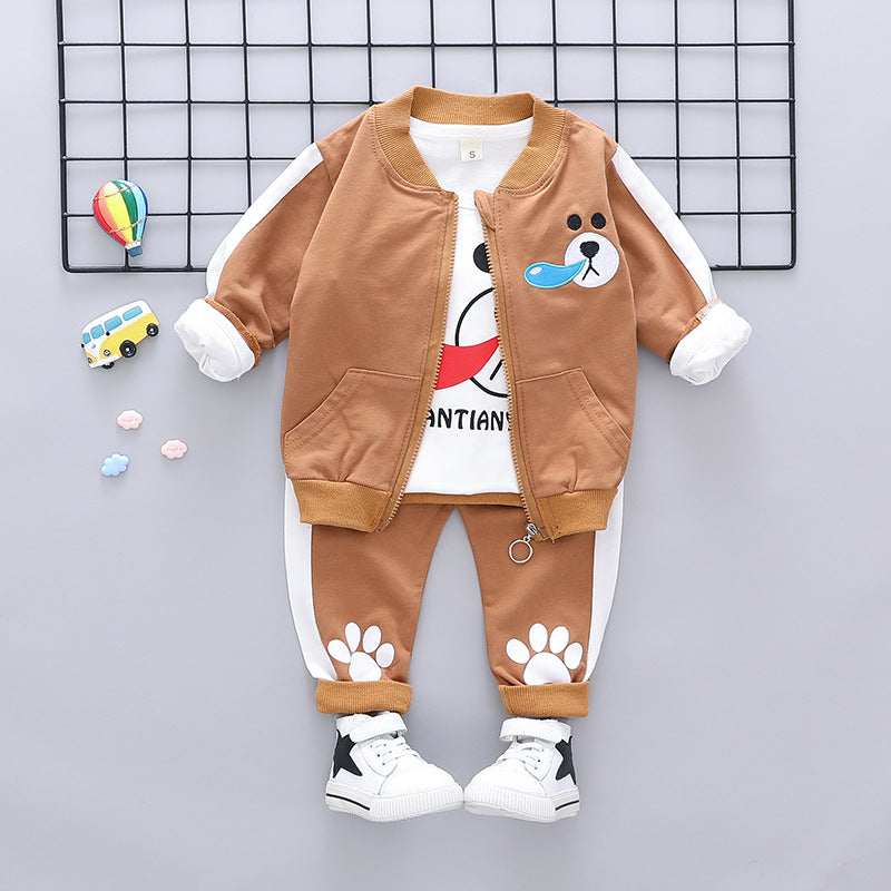 Bear Made Jacket Set