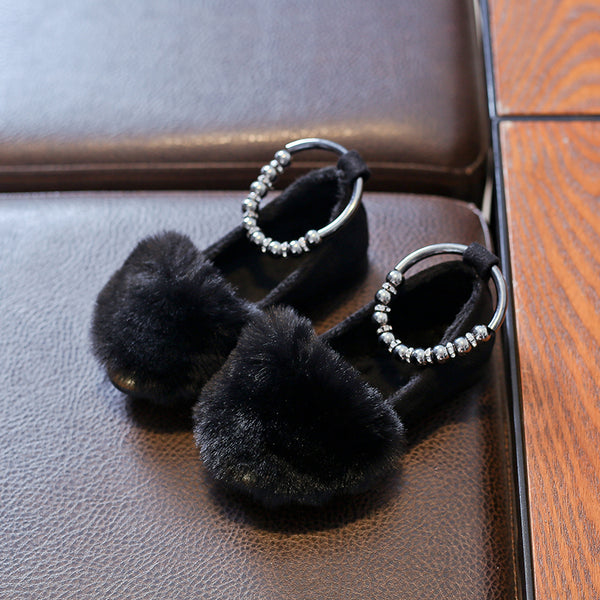 Fur Bellies With Beads Strap