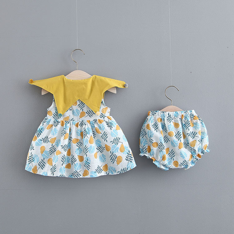 Pears Printed Bloomer Set