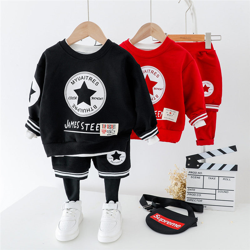 Sweatshirt And Joggers Set