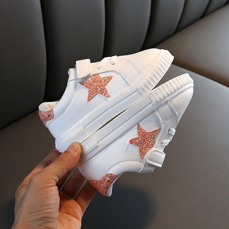 Star Made White Sneakers